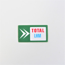 Sticker Green LHM Total...
