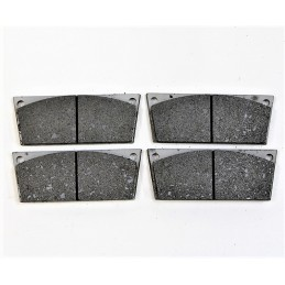 Set of 4 Front Brake Pads 3P